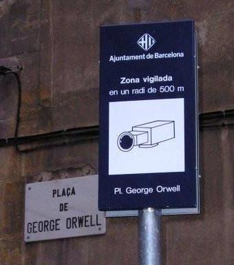 George Orwell nous avait prévenu. Big Brother is watching you !